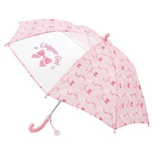 ベビー服 赤ちゃん 服 ベビー 女の子 傘 保育園 リボン柄傘【40cm】|chuckle