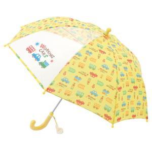 ベビー服 赤ちゃん 服 ベビー 男の子 傘 保育園 クルマ柄傘【40cm】|chuckle