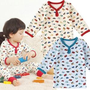 ベビー服 赤ちゃん 服 ベビー インナー 男の子 80 90 100 長袖 クルマいっぱい長袖インナーシャツ chuckle