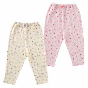 お部屋着やパジャマに大活躍の 暖か素材のレギンスです。  ■サイズ■ 70cm(ウエスト38cm、丈...