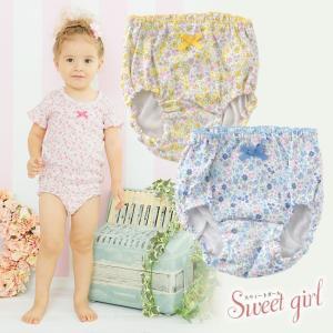 ベビー服 赤ちゃん 服 ベビー ショーツ 女の子 80 90 95 100   *スウィートガール* 小花柄ショーツ chuckle