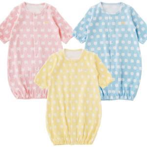 ベビー服 赤ちゃん 服 ベビー ツーウェイオール 女の子  男の子 新生児 北欧風アニマル新生児ツーウェイオールの画像