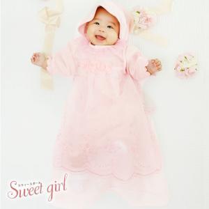 3f72ebddbf65a ベビー服 赤ちゃん 服 ベビー ツーウェイオール 女の子 新生児  スウィートガール  セレモニードレス3点 ...
