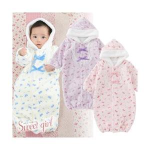 87624f1ba2862 ベビー服 赤ちゃん 服 ベビー ツーウェイオール 女の子 新生児 ...