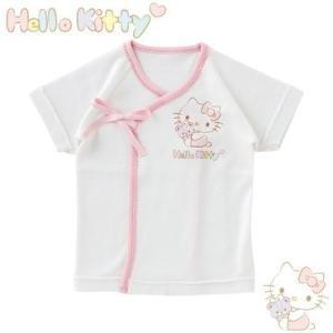 ベビー服 赤ちゃん 服 ベビー 新生児肌着 女の子 新生児 出産祝い ギフト    ハローキティ新生児短肌着|chuckle