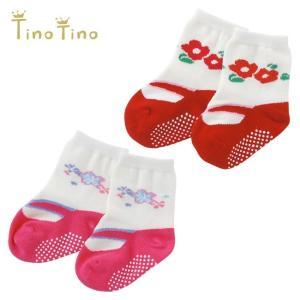 女の子ベビーのお出かけに重宝する 足袋風がキュートなベビー靴下です。  愛らしいデザインで 特別なお...