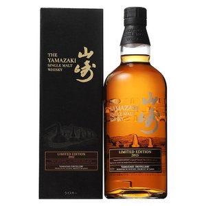 サントリー シングルモルトウイスキー 山崎 Limited Edition 2015 700ml 専用カートン入