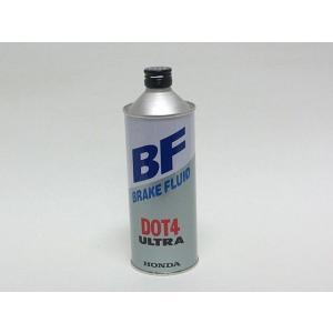 ホンダ純正ウルトラBFブレーキフルードDOT4の0.5L缶です。 非鉱物油系の高品質ブレーキフルード...