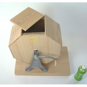 5000球用 木製ガラポン[ガラガラ]福引抽選器[抽選機]|chusen-tonya|02
