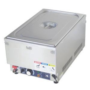 フードウォーマー スープウォーマー 1槽式 業務用 電気 卓上 湯煎式 KCFW-1-1 縦型タイプ|chuuboucenter