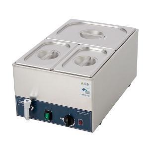 フードウォーマー スープウォーマー 3槽式 業務用 電気 卓上 湯煎式 KCFW-3A-1 縦型タイプ|chuuboucenter