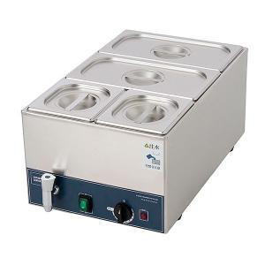 フードウォーマー スープウォーマー 4槽式 業務用 電気 卓上 湯煎式 KCFW-4A-1 縦型タイプ|chuuboucenter