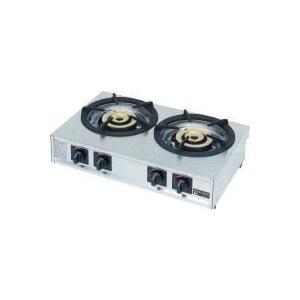 振込限定価格 M-222C マルゼン ガステーブルコンロ 親子|chuuboucenter