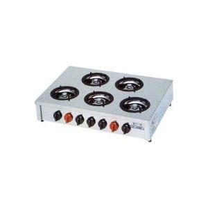 振込限定価格 M-605C マルゼン ガステーブルコンロ 飯城|chuuboucenter
