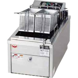 MEF-10TPD (旧MEF-10TPC) マルゼン 電気フライヤー 卓上タイプ 卓上フライヤー ファーストフードタイプ 1槽式 10L|chuuboucenter