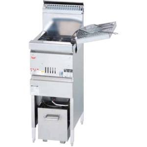 MGF-CM10J マルゼン ガスフライヤー 涼厨フライヤー 奥行450mm仕様|chuuboucenter