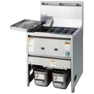 TGFL-67C タニコー ガスフライヤー 涼厨フライヤー 一槽式|chuuboucenter