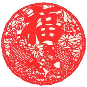 中華切り絵風シート E|chuukanotobira
