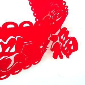 福の帯飾り垂れ幕型(春節飾り)|chuukanotobira