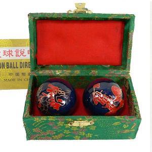 健身球 40mm (龍と鳳凰)|chuukanotobira