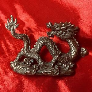 龍の置物(A) (高さ約6cm)銅製|chuukanotobira
