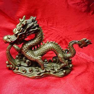 龍の置物(B) (高さ約7cm)銅製|chuukanotobira