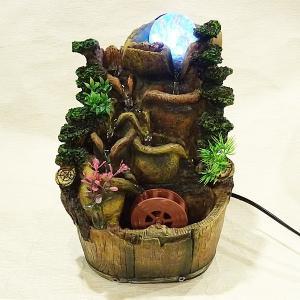 スターライト噴水-流水樽(ミニ噴水 小型 卓上)|chuukanotobira