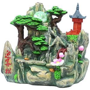 スターライト噴水-迎客松(ミニ噴水 小型 卓上)|chuukanotobira