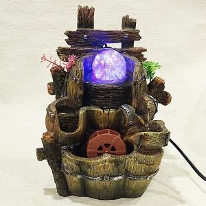 スターライト噴水-流水壺(ミニ噴水 小型 卓上)|chuukanotobira