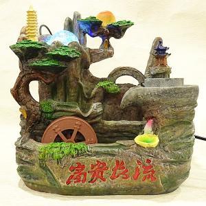 スターライト噴水-富貴長流(ミニ噴水 小型 卓上)|chuukanotobira