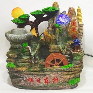 スターライト噴水-山水車(ミニ噴水 小型 卓上)|chuukanotobira