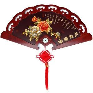 扇 花開のレリーフ 110×58cm|chuukanotobira