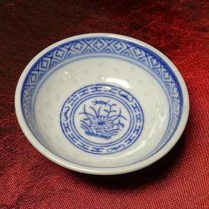 景徳鎮ホタル タレ小皿 6.5cm|chuukanotobira