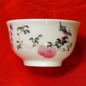 桃茶杯 5.5cm|chuukanotobira
