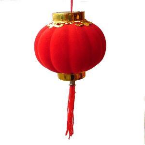 赤ミニ提灯 15cm 4個入り|chuukanotobira