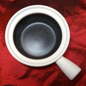 素焼砂鍋(サーコー)深型片手 18cm 日本製|chuukanotobira