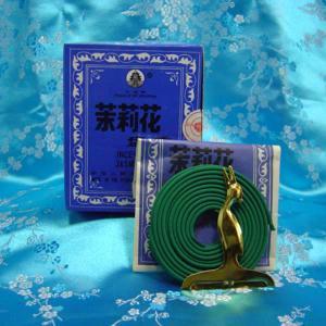盤香 ジャスミン 渦巻き香 1箱(12袋入)|chuukanotobira