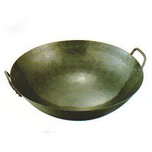 鉄打出両手中華鍋 36cm|chuukanotobira