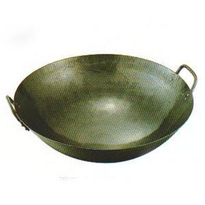 鉄打出両手中華鍋 48cm|chuukanotobira