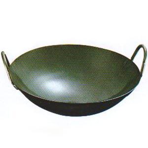 鉄プレス両手中華鍋 45cm|chuukanotobira