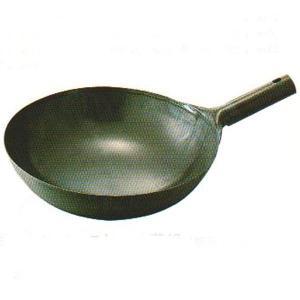 軽量 鉄プレス片手中華鍋 30cm 板厚1.0mm|chuukanotobira