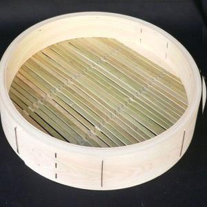 桧中華セイロ 45cm 身 輪高12cm|chuukanotobira