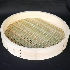 桧中華セイロ 60cm 身 輪高9cm 取手付|chuukanotobira