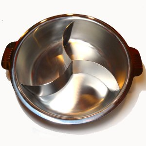 3槽チリ鍋 33cm|chuukanotobira