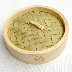 竹中華セイロ 13cm 蓋(万糧 中華せいろ 蒸篭 業務用)|chuukanotobira