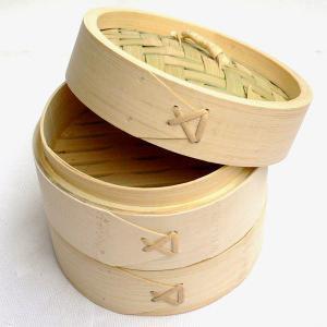 竹中華セイロ 万糧 15cm(蓋1 身2) セット chuukanotobira