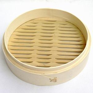 竹 中華セイロ 21cm 身(万糧 中華せいろ 蒸篭 業務用)|chuukanotobira