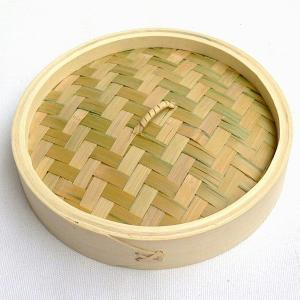 竹 中華セイロ 21cm 蓋(万糧 中華せいろ 蒸篭 業務用)|chuukanotobira