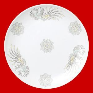 北京 メタ玉21cm丸平皿|chuukanotobira