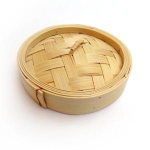 広東式竹中華セイロ 万糧 13cm 蓋|chuukanotobira
